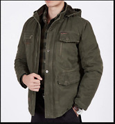 Anti-stab Resistant Self Protection Military Discreet Police Hooded Winter Coat