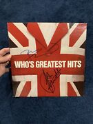The Who's Greatest Hits Townshend Entwistle Signed Autographed Album Beckett