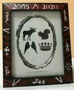 Hand Painted 8 X 10 Supernatural Photo Frame Sam And Dean Winchester Spn Fans Look