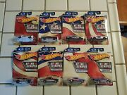 8 Stars And Stripes Series Mattel Hot Wheels Cars Lot/collection Brand New