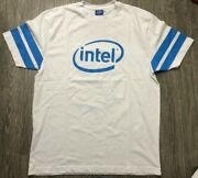 Intel Core I7 Inside T Shirt Jersey Large New Without Tags See Measurements