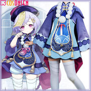 Genshin Impact Qiqi Cosplay Costume Zombie Outfit Custom Made