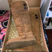 Knee High Uggs Boots Woman Size 8 Used