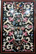 25x52 Marble Top Dining Table Precious Marquetry Inlay Christmas Decorate B237