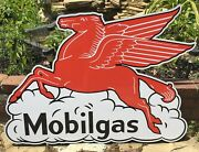 Mobilgas Signs / Mobil Signs / Garage Signs For Men / Outdoor Signs / Gas And Oil