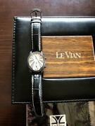 Levian Black Diamond Swiss Made Limited Edition 054/500 Menand039s Watch