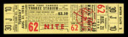 1956 Cleveland Indians @ New York Yankees Herb Scoreand039s Greatest Game Full Ticket