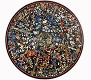 42 Marble Dining Table Top Multi Stone Floral Fine Inlay Arts Garden Decor B279