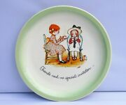 Holly Hobbie Collectors Edition Plate Friends Need No Special Invitation 10.5
