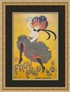 Leonetto Cappiello Le Frou-frou Advertising Poster Print Custom Framed