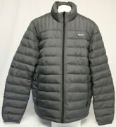 New Dkny Menand039s Water Resistant Ultra Loft Quilted Packable Puffer Jacket
