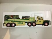 2002 Hess Collectible Toy Truck And Airplane