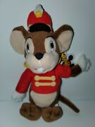 Retired Disney Plush 8 Beanie Timothy The Circus Mouse From Dumbo Nwt 🎪 🐀