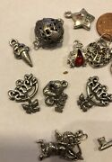 Lot Assorted Charms Pendants Findings 3d Ice Cream Kiss Beetle Hearts Romance