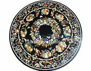 48 Marble Dining Table Top Multi Stone Floral And Birds Inlay Christmas Gift B308