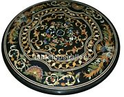 3and039 Marble Dining Table Top Pietra Dura Marquetry Inlay Christmas Dandeacutecor Gift B312
