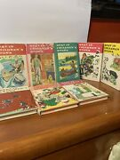 Lot Of 8 Antique Best In Childrens Books 1935, 1958x2, 1959 ,1960x4. 8 Books