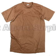 Canadian Army T-shirt - Afghanistan Desert Tan - New - Large - 154r101c