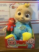 Cocomelon Musical Bedtime Jj Doll With Plush Tummy And Roto Head