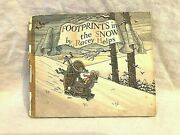 Racey Helps - Footprints In The Snow 1st/1st 1946 Collins Barnaby Little Mouse