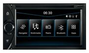 Vn630dc With Igo Navigation Software Universal 2-din I30 Naviceiver With Large