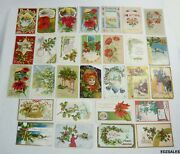 29 Antique Christmas Holiday 1900and039s Colorful Postcards