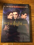 The Twilight Saga Complete Movies Series 1 2 3 4 5 Collection Dvd Set Horror New