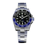San Martin Gmt Dive Mens Watches Water Ghost 200m Waterproof Automatic Watch