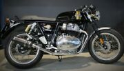 Royal Enfield Continental Gt 650 2019-2020 Endy Exhaust Silencers Legend Carbon