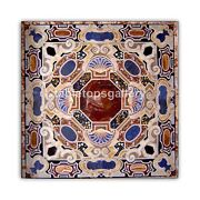 40 Marble Top Dining Table Inlaid Pietra Dura Mosaic Art Occasional Decor B428