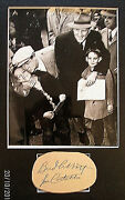 Abbott And Costello Charity Event Original Vintage Autograph With Photo