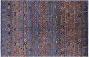 5and039 6 X 8and039 5 Tribal Gabbeh Hand-knotted Rug - Q5356