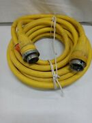 Hubbell 50 Amp 125 Volt Power Cord 50and039