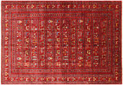 Tribal Gabbeh Hand Knotted Rug 5and039 11 X 8and039 5 - Q5350