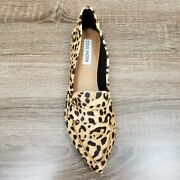 One Shoe Only Right Foot Only Steve Madden Carver Animal Print Flat Sz 9 Amputee