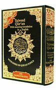Tajweed Quran With Meaning Translation And Transliteration In English Hardcover