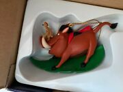 Grolier Disney Christmas Tree Ornament Pumbaa And Timon Decoration The Lion King
