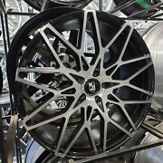 Anddiams️22x9 5x115 Giovanna Black/machined Wheel And Tire Package