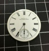 Vintage American Waltham Co Watch Mechanism For Pocket Watches 18ct Gold Gears