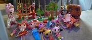 Lalaloopsy Bundle Large Dolls Bed Car Treehouse Lots Please Look