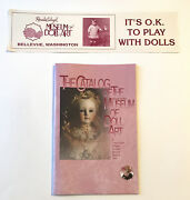 Rosalie Whyel The Catalog Of The Museum Of Doll Art And Bumper Sticker