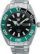 Seiko 5 Sports Srpc53 Automatic Stainless Steel Black 45mm Menand039s Watch Srpc53k1