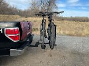 Hitch Mount Bike Rack 2-bicycle Carrier 2 Receiver With Lock Pin Updated