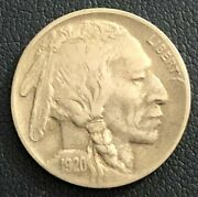 1920-d Buffalo Nickel Re-punched Mint Mark