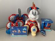 Minnie Mouse Main Attraction Dumbo Loungefly Fanny Pack Ears Mug Plush Pin Lot