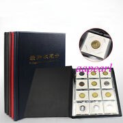120 Pockets Album 10 Pages 52mmx52mm Holders Coin Money Protection Collections