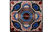 42 Marble Center Dining Table Tops Mosaic Inlay Stone Interior Home Decor B559a