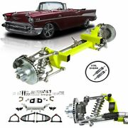 1955 - 1957 Chevy Tri Five Bel Air Power Steering Performance Ifs Kit Coilovers