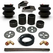 Universal Rear Air Bag Bracket Kit With Air Bags, Line, Fittings And Shock Mnts V8