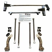 1964-70 Ford Mustang Bolt-in Rear Parallel 4-link Suspension Kit - No Coilover